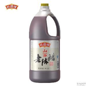 陳醋廠家食醋桶裝昌盛隆老陳醋2.2L批發陳醋招代理商調味品