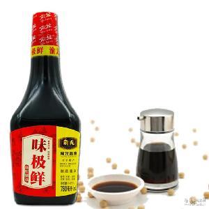 俞龙 味道纯正酿造 美味生抽 味极鲜酱油 可零售可批发一件代发