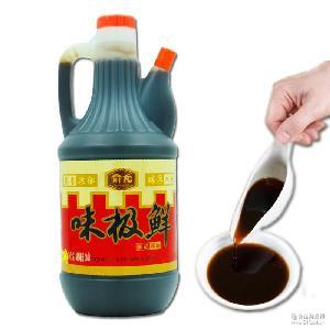 支持一件代发零售批发 俞龙味极鲜酱油佐餐凉拌烹调用天然爽口