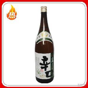 酿造酒 白鹤辛口清酒1.8L增色增味去腥式料理清酒