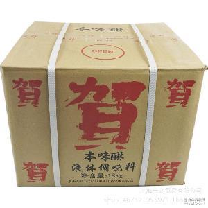 桶裝賀本味淋18升大桶裝千賀壽本味淋日本味淋本味醂甜料酒