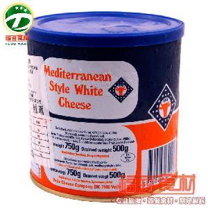 WHITE 【福瑪食材】丹麥發達芝士 500g CHEESE 地中海白奶酪