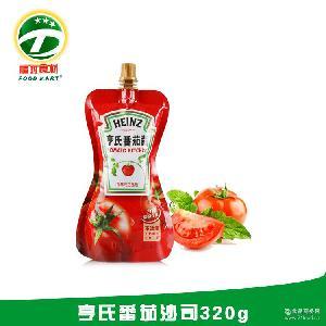 批发 番茄酱 320g 亨氏经销商 【福玛食材】 袋装 亨氏番茄沙司
