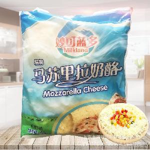 拉丝披萨焗饭 马苏里拉芝士碎 妙可蓝多精制马苏里拉奶酪3kg*4