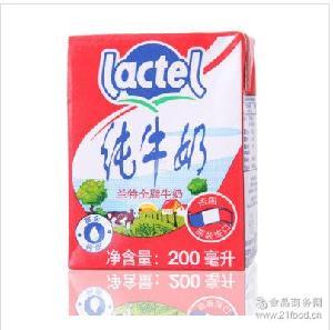 蘭特全脂純牛奶200ML*24 進口牛奶 蘭特小牛奶