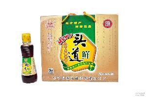 鹽城特產阜寧益林醬油三級純糧釀造醬油原味800ml