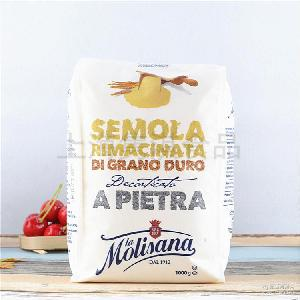 麦丽 硬质小麦粉批发 手工意大利面粉1kg 三文尼娜面包预拌粉
