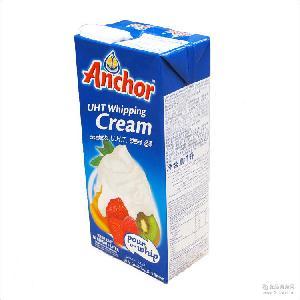可打發新西蘭原裝淡奶油批發12*1L 烘焙原料安佳淡奶油動物性奶油