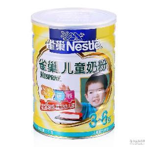 整箱12聽 1000g雀巢金裝兒童奶粉批發零售 3-6歲
