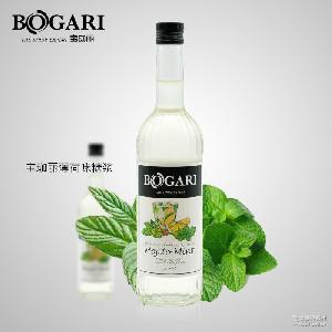 白薄荷风味果露 买2瓶送压头 750ml BOGARI/宝珈丽 进口糖浆