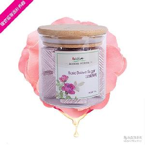 吉林玫瑰山产地批发玫瑰黑糖 美味营养八分甜度寒地玫瑰原料