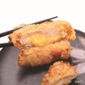 爆浆鸡排批发 鸡胸肉夹心 【三统万福】台湾芝士V鸡排
