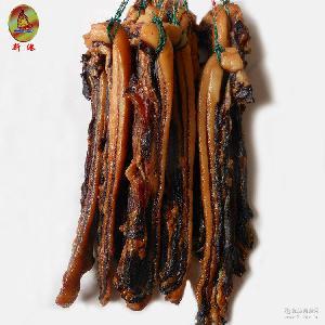 新港豉味加瘦腊肉 正宗广式腊肠腊肉农家土猪广东特产自制咸腊肉