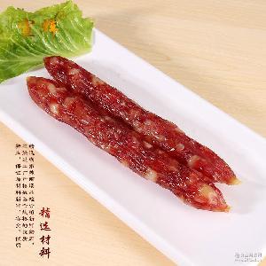 广式风味香肠多瘦猪肉农家腊味腊肉特产厂家直销 正宗广东腊肠