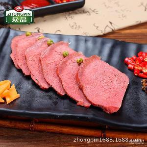 眾品五香牛肉 熏煮火腿醬鹵熟牛肉即食熟食涼菜小吃河南特產批發