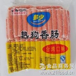 1箱10包 多少香肠 215元1箱 有辣味 原味2种