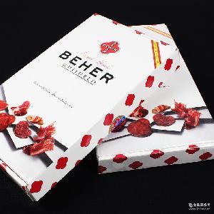 BEHER西班牙火腿橡果伊比利亚48个月即食切片套装礼盒5X100g批发