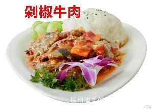 添美冷凍中式快餐料理包即食方便飯蒸燴煮簡餐調理包剁椒牛肉