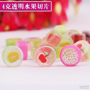 一邦5斤4克手工透明水果切片糖果创意结婚喜糖棒棒糖果儿童零食