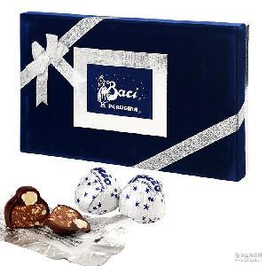 Baci/芭喜 意大利巧克力 柔软浓滑 榛仁夹心巧克力300g礼盒装