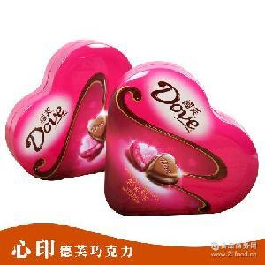 情人节表白爱心元旦生日礼物 德芙巧克力心语礼盒装53g*20盒