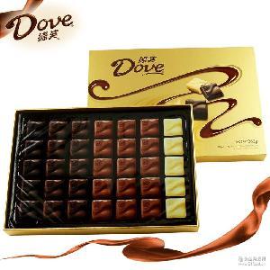 德芙巧克力经典礼盒装262g 情人节圣诞节礼物批发圣诞巧克力