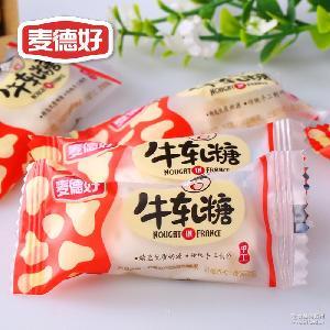 手工牛軋糖好吃的花生奶糖 福建特產婚慶喜糖果整箱批發 麥德好