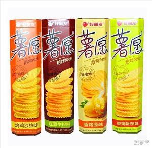 好丽友薯愿焙烤薯片非油炸休闲小吃膨化零食品 104g*20盒/件