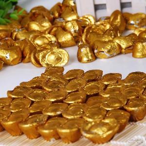 甜蜜丝滑好滋味 婚庆节日糖果 批发 巧克力系列 甜蜜1派 金元宝