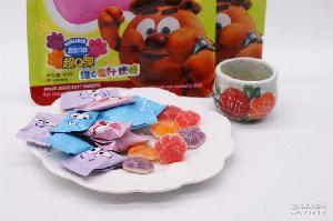 儿童水果软糖零食 多口味可选 平博士吃我1掌 维c果汁软糖50g/包