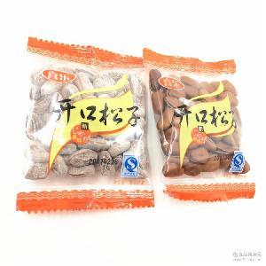 喜乐开口松子2口味供选独立小包装称重一箱10斤
