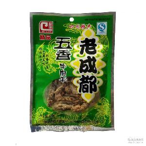 川辣妹老成都五香牛肉干麻辣味40g小袋裝便攜旅行零食超市批發