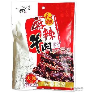 私房菜牛肉條 蜀道香天椒麻辣鹵味牛肉干88g 四川特產