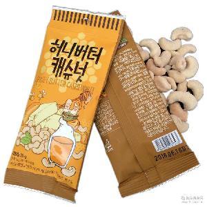 韩国进口GILLIM蜂蜜黄油腰果 黄油混合坚果仁 3味选择 蜂蜜杏仁
