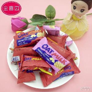 創意喜糖批發巧克力燕麥香脆辦公室零食獨立小包裝營養麥片巧克力