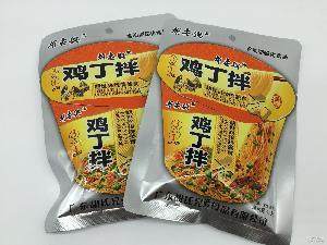 潮安膨化休閑小食品 【雞丁拌面】1*200 魯魯仔優質零食批發