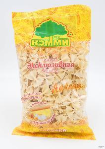 哈萨克斯坦原装进口面条克米牌蝴蝶面鸡蛋面速食面批发销售代理