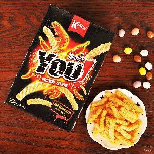 克羅貝泰式甜辣醬蝦條 100g 馬來西亞 進口膨化薯條零食小吃