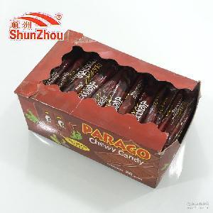6g parago巧克力味奶糖 出口热销 20盒1件