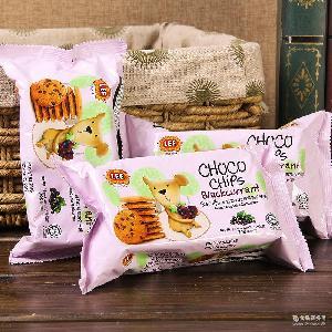 休閑零食餅干 馬來西亞進口曲奇 南益餅干巧克力70g 批發零售