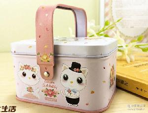 上海特产大白兔奶糖果马口铁礼盒送闺蜜 批发 一件代发 儿童礼物