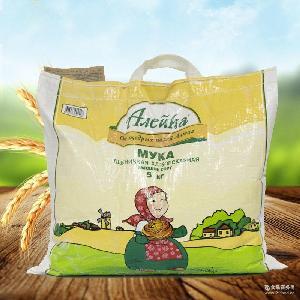 低价批发俄罗斯进口艾利客牌特等高筋小麦面粉 馒头粉5kg高筋面粉
