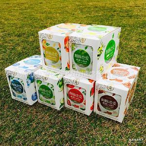欢乐猴糖糖恋爱糖果双层水晶硬糖果味压片糖儿童零食品16盒*20包