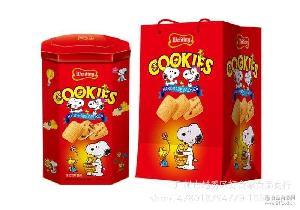 埃臣 680g(欢乐牛油喜悦手工)曲奇饼干礼盒装 香港 1*8罐