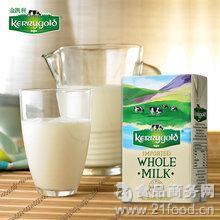 爱尔兰原装进口牛奶 金凯利全脂牛奶250ml