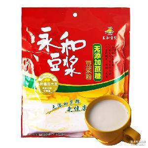永和豆浆粉无糖350克无添加蔗糖豆浆粉一袋12小包永和豆浆
