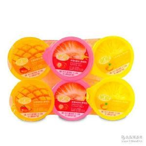 馬來西亞果愛什錦果凍果味型三種口味660克休閑食品小零食批發
