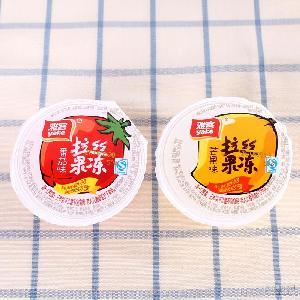 番茄味芒果味果冻 雅客拉丝果冻 创意休闲办公室零食