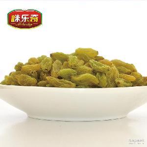 咪乐奇新疆吐鲁番绿葡萄干无核提子干5kg/箱休闲果干散装零食批发