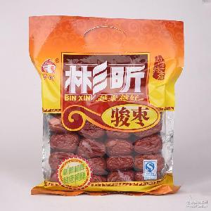 山西特产五星骏枣果干批发 大枣 精选一等大红枣800g包装厂家直销